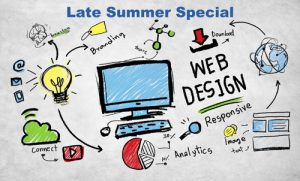 SEO, optimising, web design, offer, web design package, professional, responsive, design, website, webpage, social, web design late summer special, discount